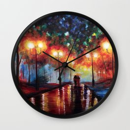 Ted and Tracy Mosby Wall Clock