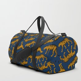 Tigers (Navy Blue and Marigold) Duffle Bag