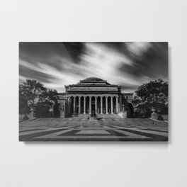 Low Library of Columbia University Metal Print