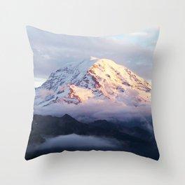 Marvelous Mount Rainier 2 Throw Pillow