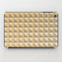 pyramid iPad Cases featuring pyramid by Ioana Luscov