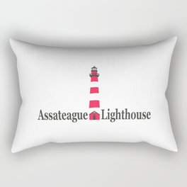 Assateague Lighthouse - Virginia. Rectangular Pillow