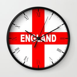 Flag of England Wall Clock