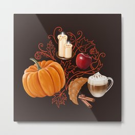 Rustic Fall Metal Print