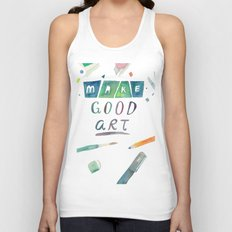 Make Good Art Unisex Tank Top