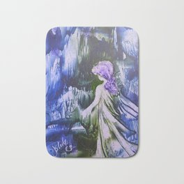 Lost Girl 2 - Blue Forest Bath Mat