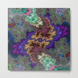 Fractal Abstract 53 Metal Print