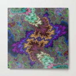 Fractal Abstract 53 Metal Print
