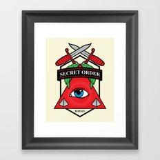 Secret Order Framed Art Print