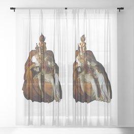 King Lion Sheer Curtain