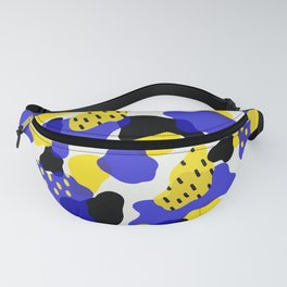 abstract blobs 2 Fanny Pack