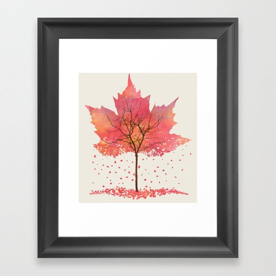 Fall Framed Art Print