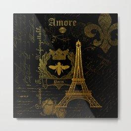 Paris Amore Metal Print