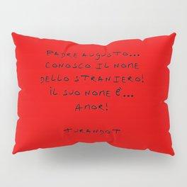 Turandot 3 red Pillow Sham