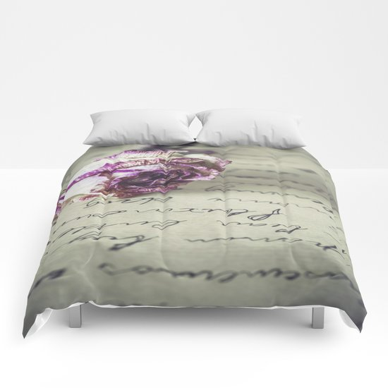 Love letter Comforters