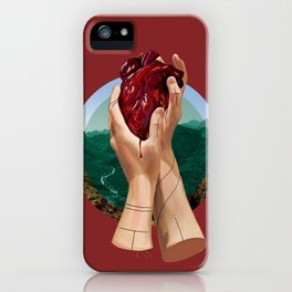 In Its Grip iPhone Case