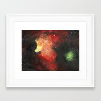 cosmic Framed Art Prints featuring Cosmic by Bleriot