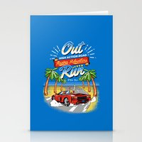 racing Stationery Cards featuring Racing Adventure by MeleeNinja