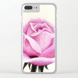 ROSE II Clear iPhone Case