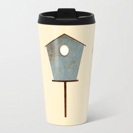 Birdy Birdhouse Travel Mug
