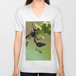 whispy wasp Unisex V-Neck