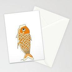 Koi Orange Stationery Cards