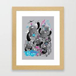 Must destroy the city - Revisited Framed Art Print
