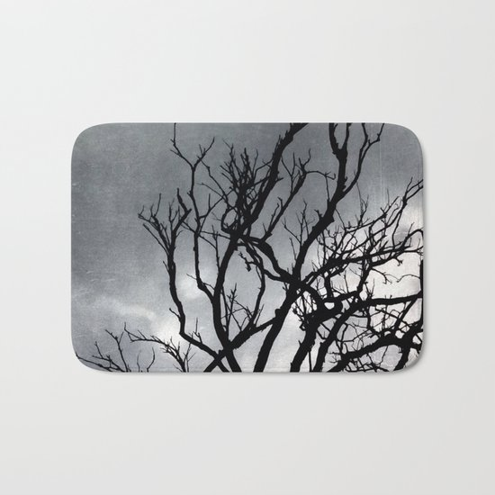 Old tree Bath Mat