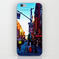 Sun Goes Down  in the City iPhone & iPod Skin