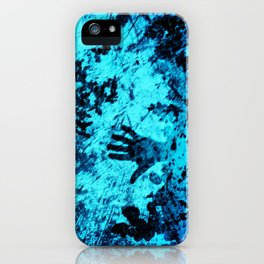 Cave Pool Painting iPhone Case