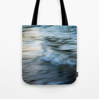 rush Tote Bags featuring Rush by Create Evoke