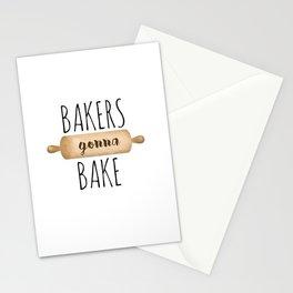 Bakers Gonna Bake Stationery Cards