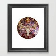 Hall Of The Crimson King Framed Art Print