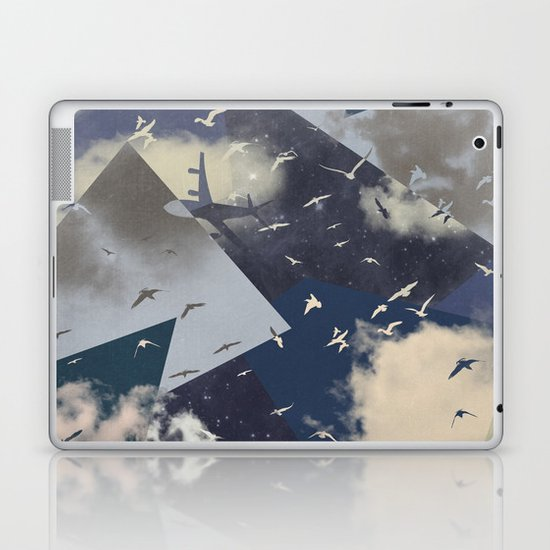 The Sky Laptop & iPad Skin
