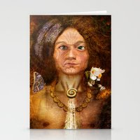 pagan Stationery Cards featuring Pagan Avatar by Bryan Dechter