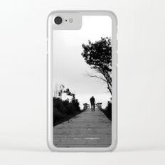 Follow the Path Clear iPhone Case