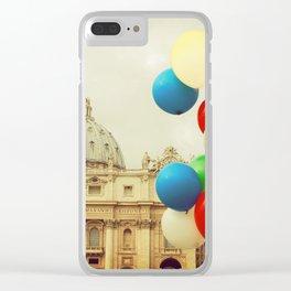 Festa in Vaticano Clear iPhone Case