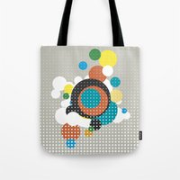 bubbles Tote Bags featuring bubbles by Heinz Aimer