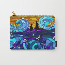 Golden Sails Carry-All Pouch