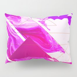 Abstract Conceptual 50th Tribute Pillow Sham