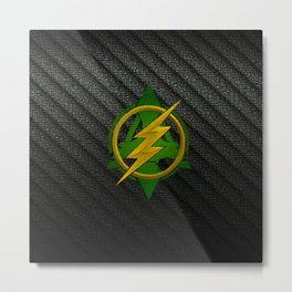 FLASH LOGO Metal Print