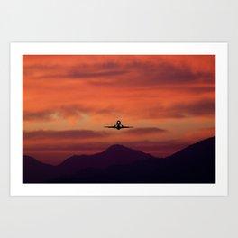 Sunrise Takeoff Art Print