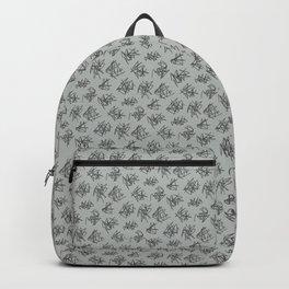 Scribble Pattern Backpack