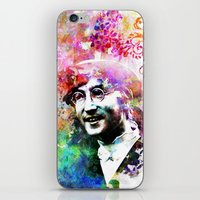 john mayer iPhone & iPod Skins featuring John by Nato Gomes