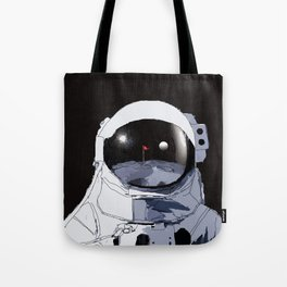 Astronaut Golf Course on the Moon Tote Bag