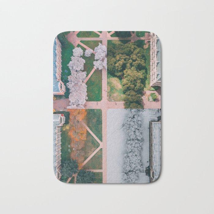 UW Cherry Blossoms: 4 Seasons Bath Mat