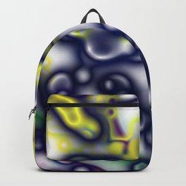 Black fluid liquid Backpack
