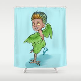 Cookie the Harpy Shower Curtain