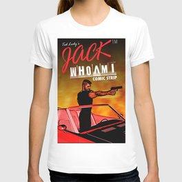 Official JackWhoAmI Comic Strip Merchandise T-shirt