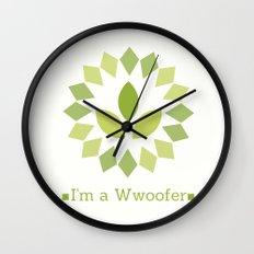 I'm a Wwoofer Wall Clock